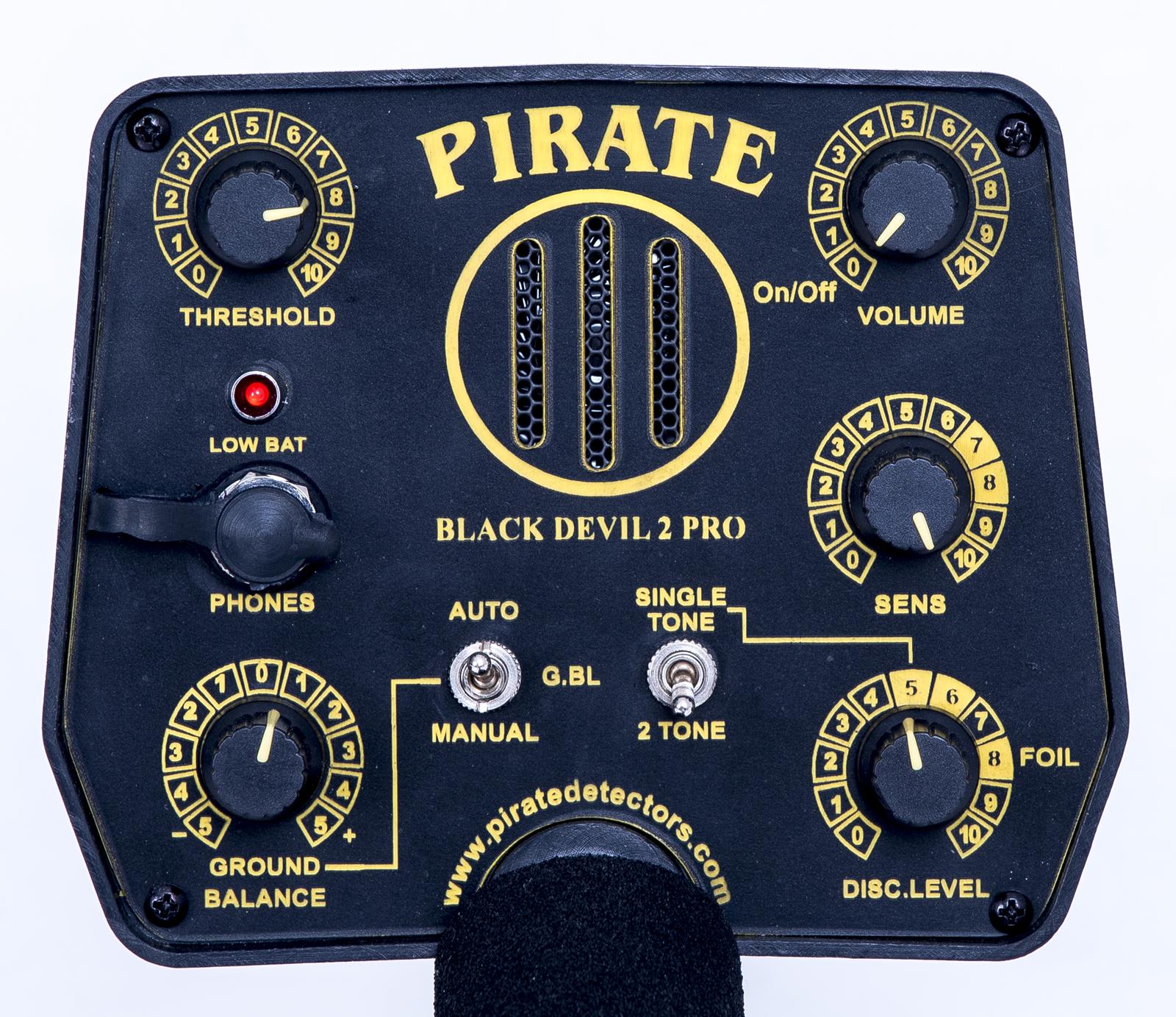 detector pro pirate